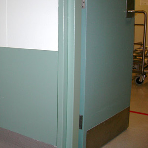 Wall and Door Protection Hospitals