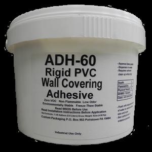 Rigid PVC Wall Covering Adhesive, Protect-a-Wall